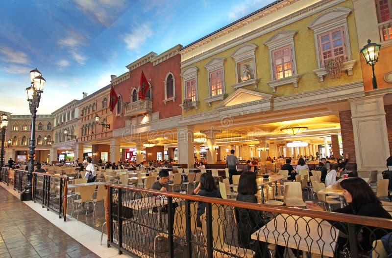 Casino veneciano en Macao imágenes de archivo libres de regalías