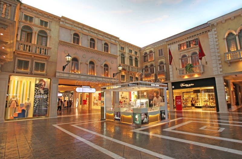 Casino veneciano en Macao fotografía de archivo