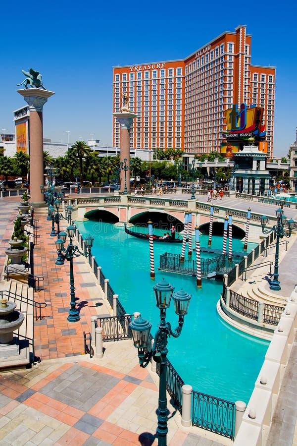 Casino Venetian em Las Vegas foto de stock