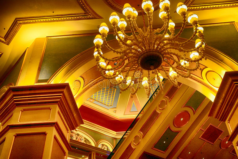 Casino Venetian, Macau fotos de stock