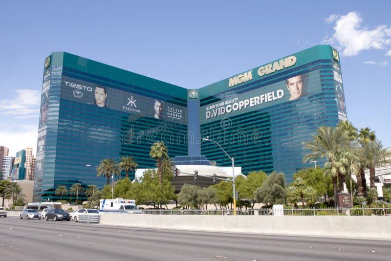 Casino y hotel de Mgm Grand Las Vegas en Las Vegas, Nevada fotografía de archivo libre de regalías