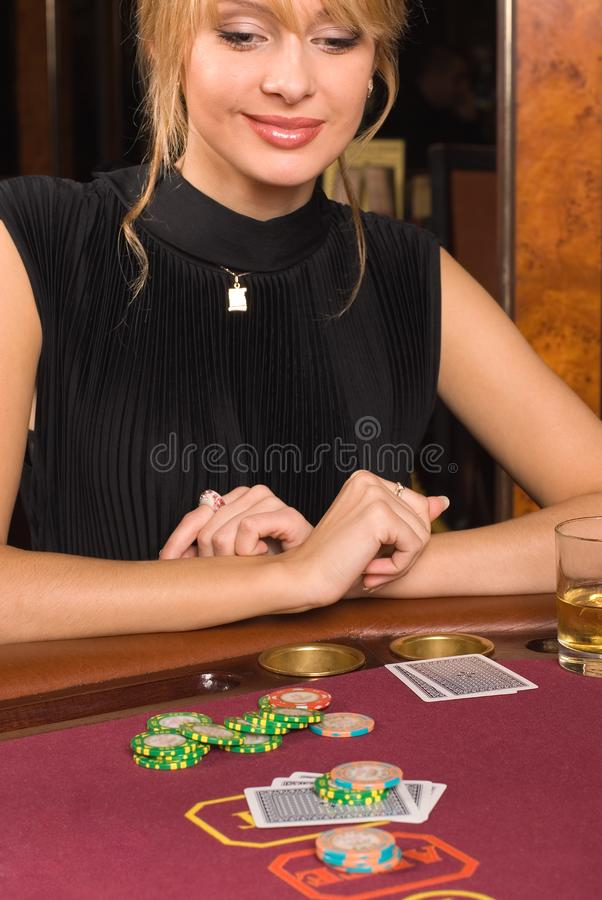 Casino and youth stock photo