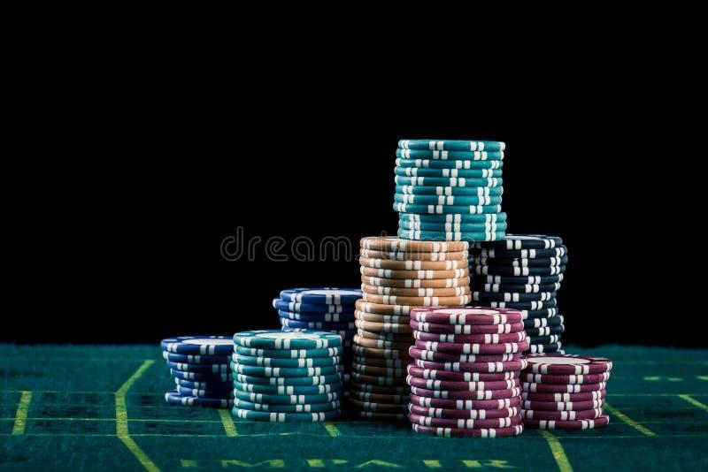 Casinobeeld royalty-vrije stock afbeeldingen