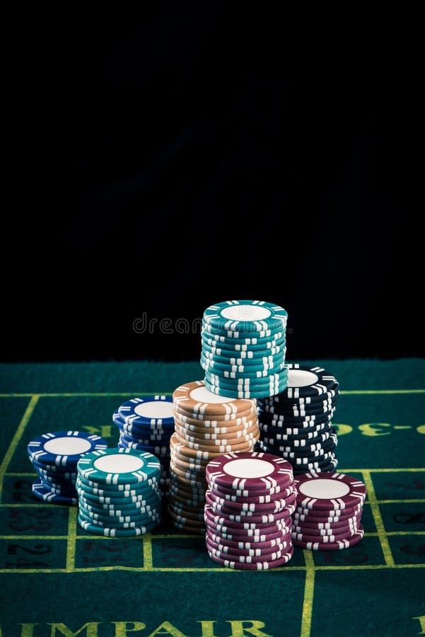 Casinobeeld royalty-vrije stock foto's