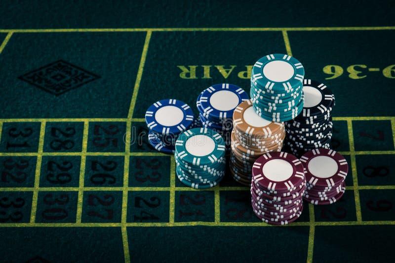 Casinobeeld stock afbeelding
