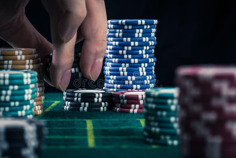 Casinobeeld stock fotografie