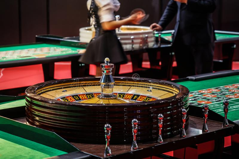 Casinobeeld royalty-vrije stock foto
