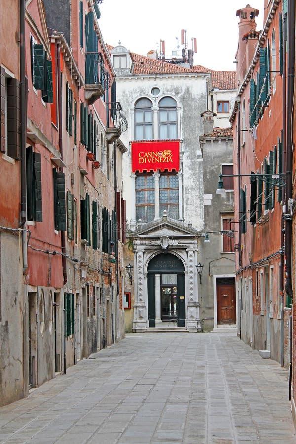 Casinopaleis DI VENEZIA Venetië, Italië, Europa stock foto's