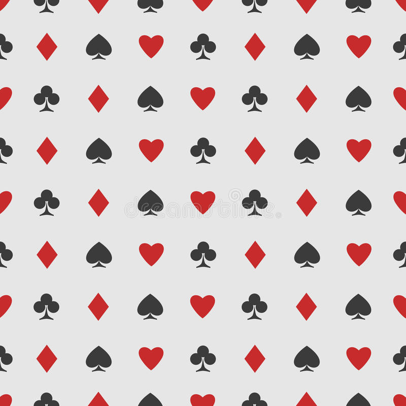 Casinorug vector illustratie