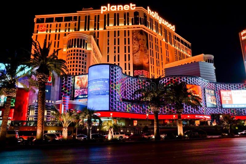 Casinos à Las Vegas fabuleuse photographie stock