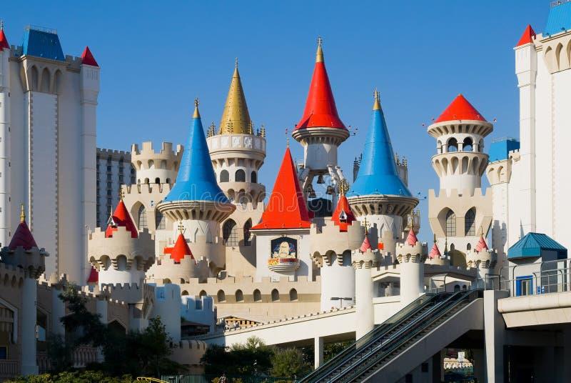 Casinos en Las Vegas imágenes de archivo libres de regalías
