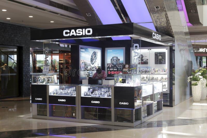 Casio klockaräknare royaltyfri foto