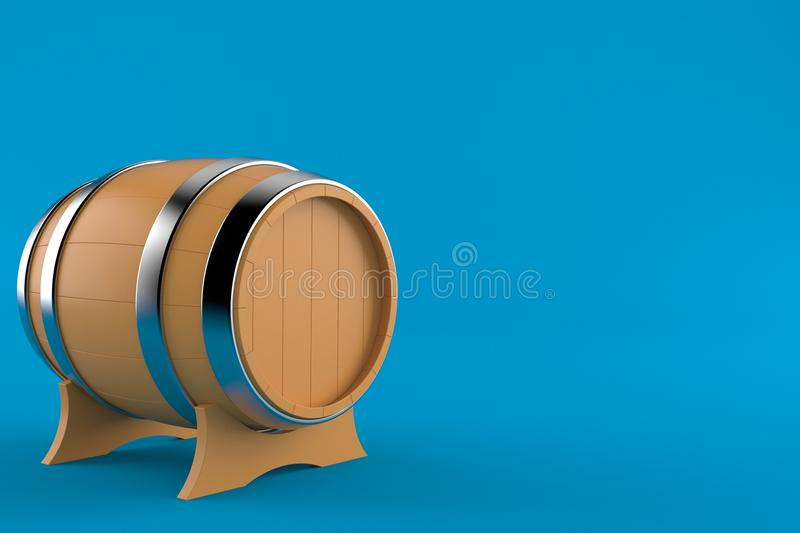 cask royaltyfri illustrationer