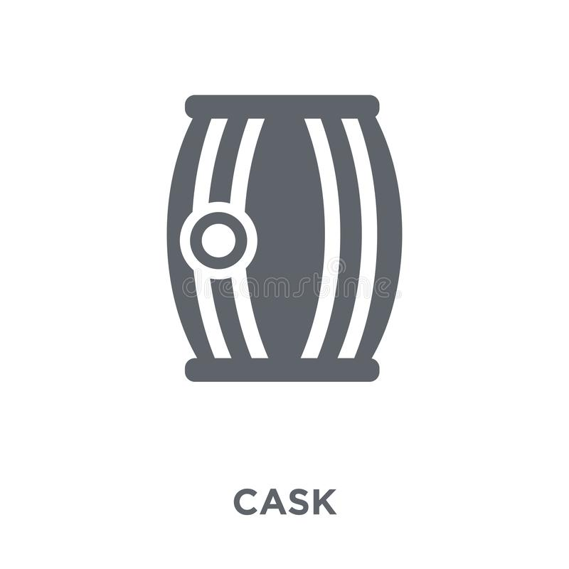 Cask icon from Drinks collection. vector illustration