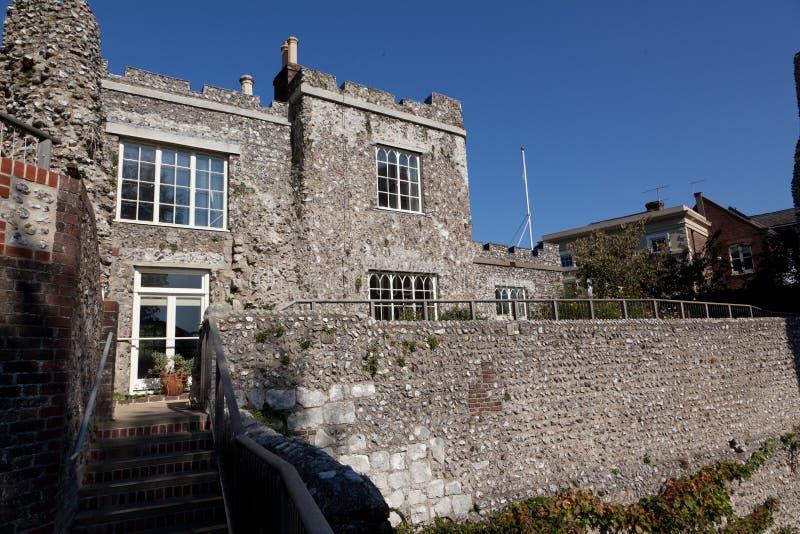 Casle Lewes östliga sussex England, Förenade kungariket royaltyfri bild