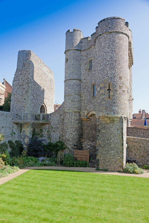 Casle Lewes Ost-Sussex England, Vereinigtes Königreich stockbild