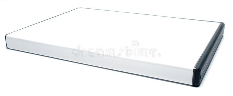 Caso in bianco di DVD fotografia stock libera da diritti
