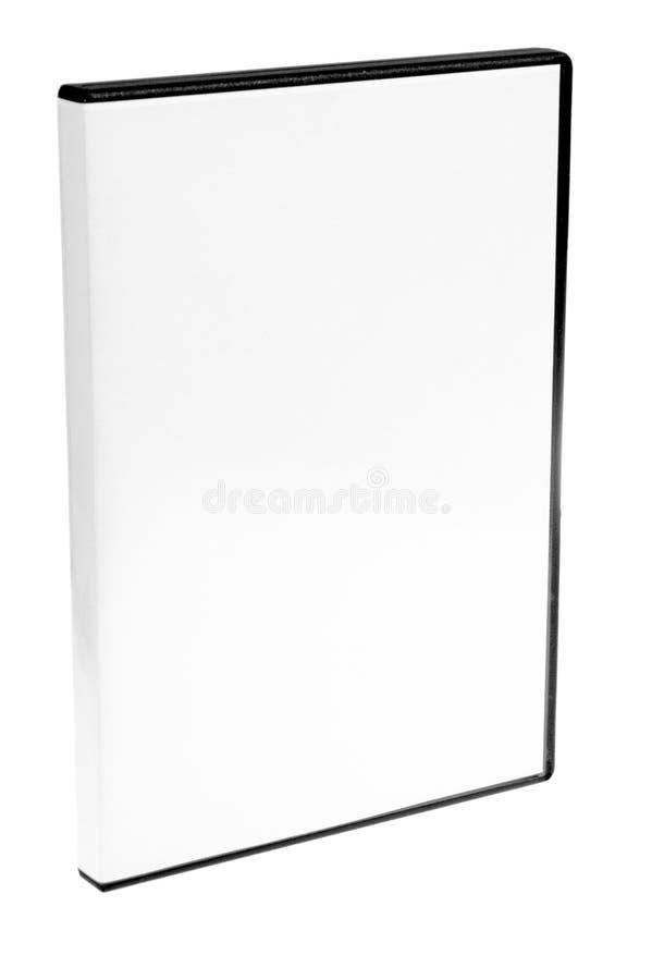 Caso in bianco DVD/priorità bassa bianca CD immagine stock libera da diritti