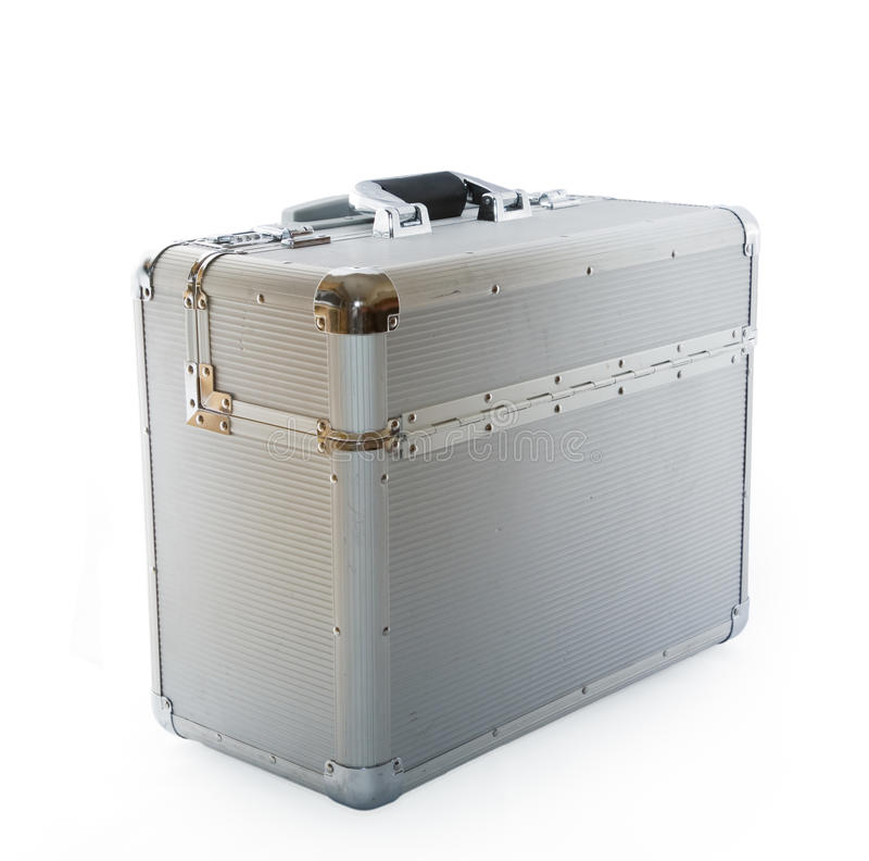 Caso de aluminio foto de archivo libre de regalías