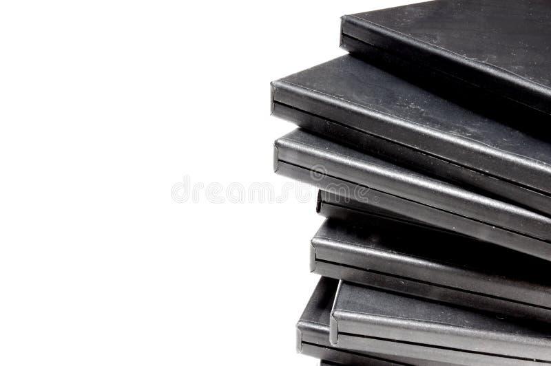 Caso de CD/DVD imagens de stock royalty free