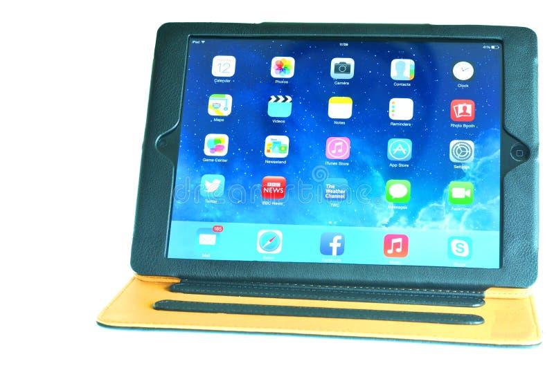 caso del iPad fotografía de archivo libre de regalías