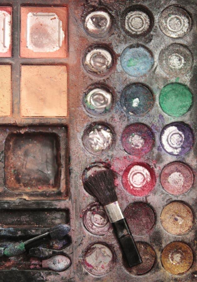 Caso del maquillaje de Kidimágenes de archivo libres de regalías