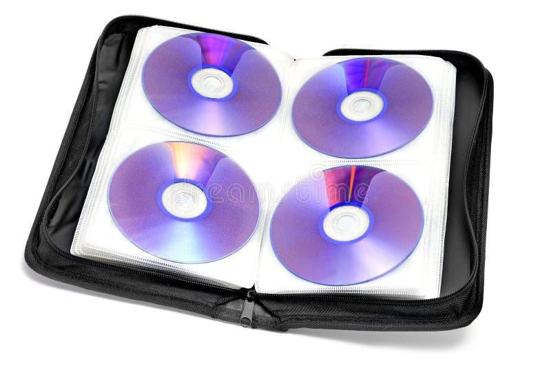 Caso di CD-DVD immagine stock