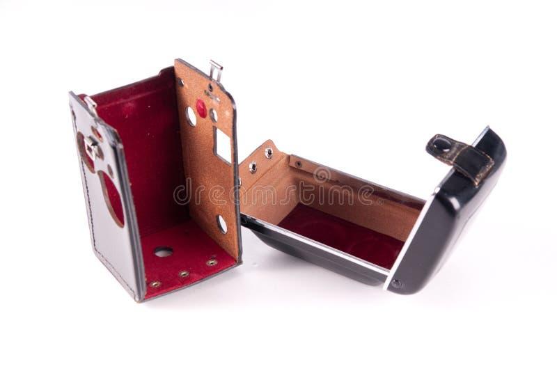 Caso di cuoio fotografia stock