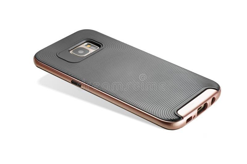 Caso do telefone celular fotografia de stock