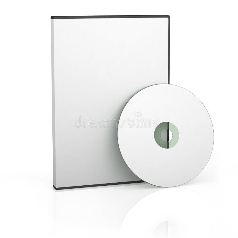 Caso en blanco de DVD libre illustration