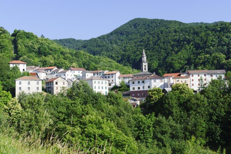 Casoni (Passo Del Fregarolo) lizenzfreies stockbild