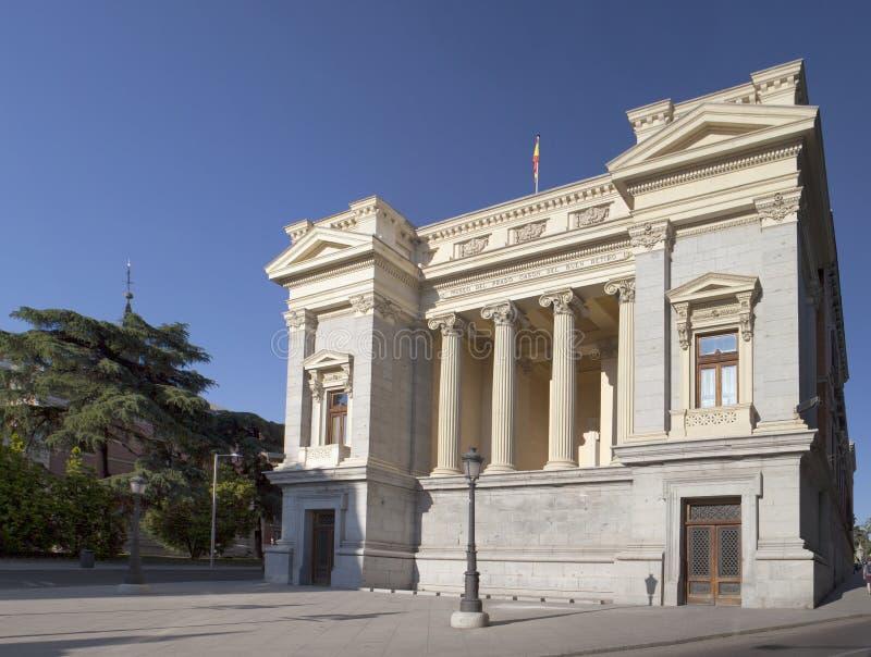 Casonn del Buen雷蒂罗在马德里 免版税图库摄影