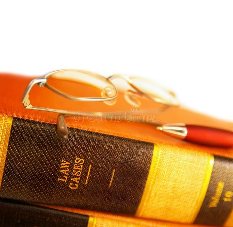 Casos de ley foto de archivo libre de regalías
