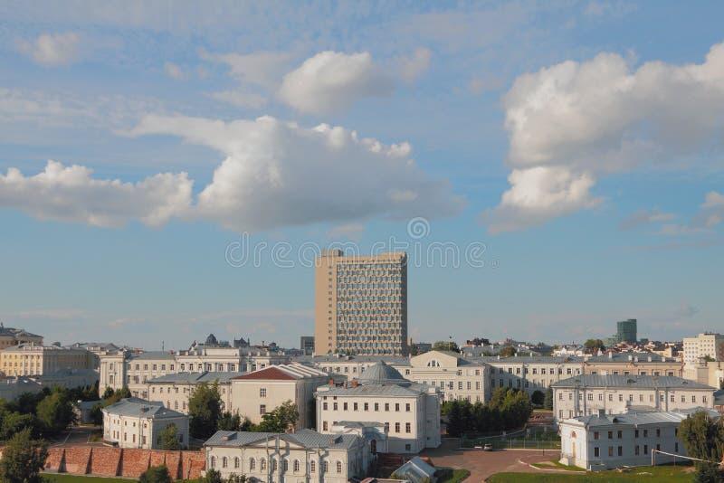 Casos históricos de KFU Kazan, Rússia fotos de stock royalty free