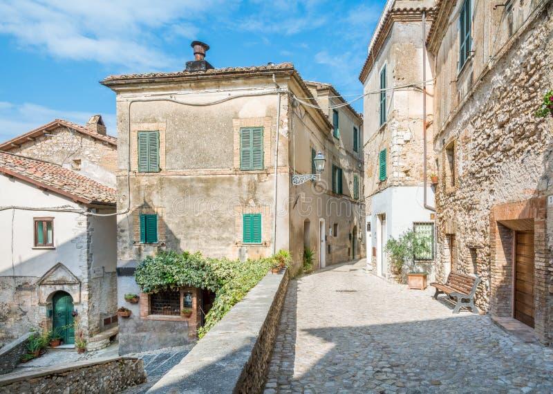 Casperia, medieval rural village in Rieti Province, Lazio, Italy. Casperia is a comune in the Province of Rieti in the Italian region Latium, located about 50 stock photos