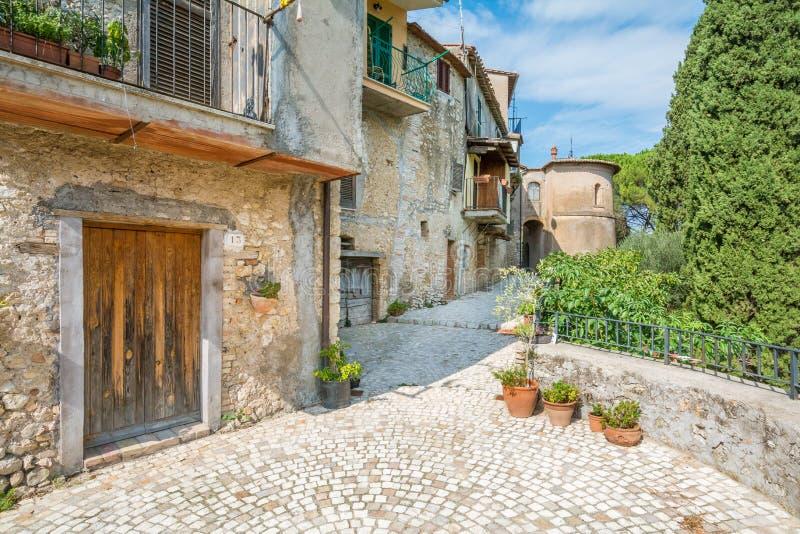 Casperia, medieval rural village in Rieti Province, Lazio, Italy. Casperia is a comune in the Province of Rieti in the Italian region Latium, located about 50 stock images