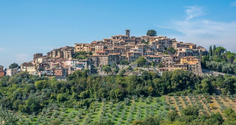 Casperia, medieval rural village in Rieti Province, Lazio, Italy. Casperia is a comune in the Province of Rieti in the Italian region Latium, located about 50 royalty free stock images