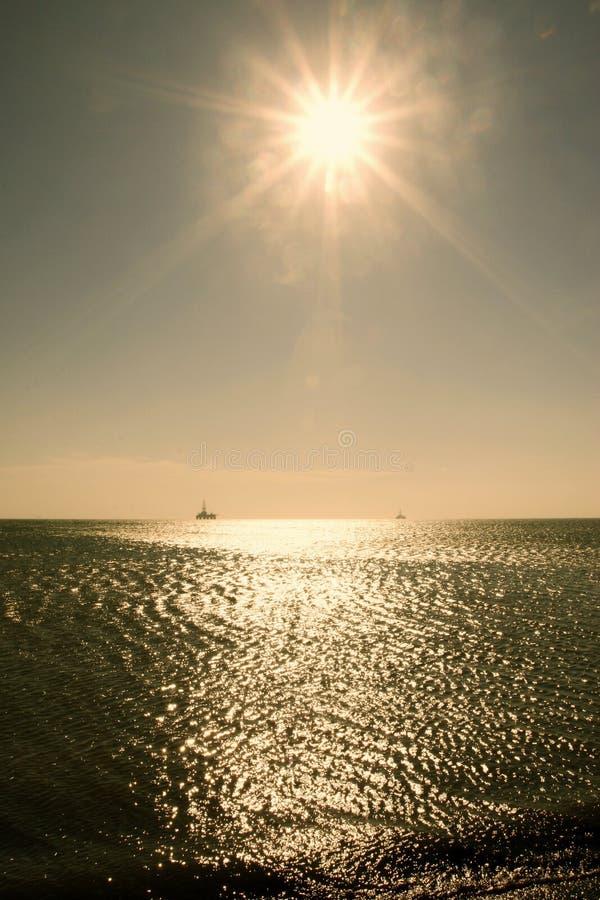 The Caspian Sea royalty free stock photos