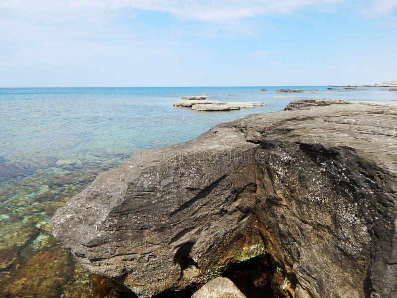 Download Caspian Sea. stock photo. Image of horizontal, clear - 58457538