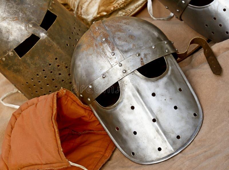 casque antique image stock