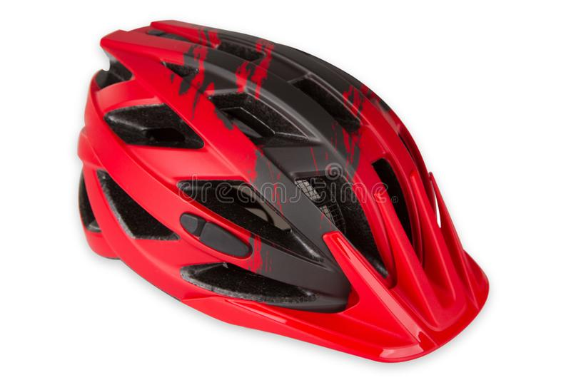 Casque de bicyclette photo stock