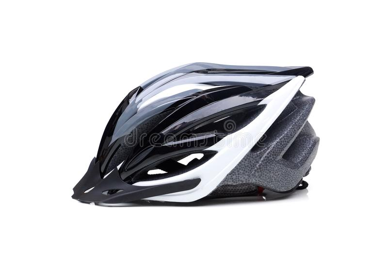 Casque de bicyclette images libres de droits