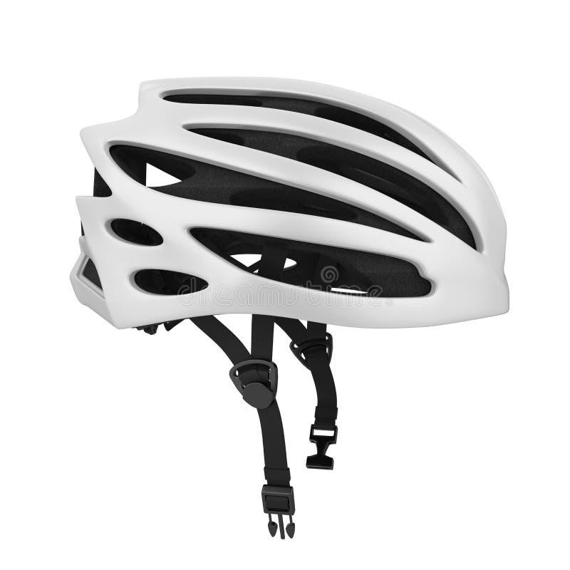 casque de bicyclette d'isolement illustration stock