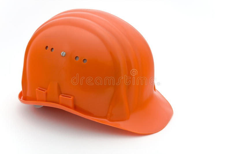 casque de Construction-site photo libre de droits