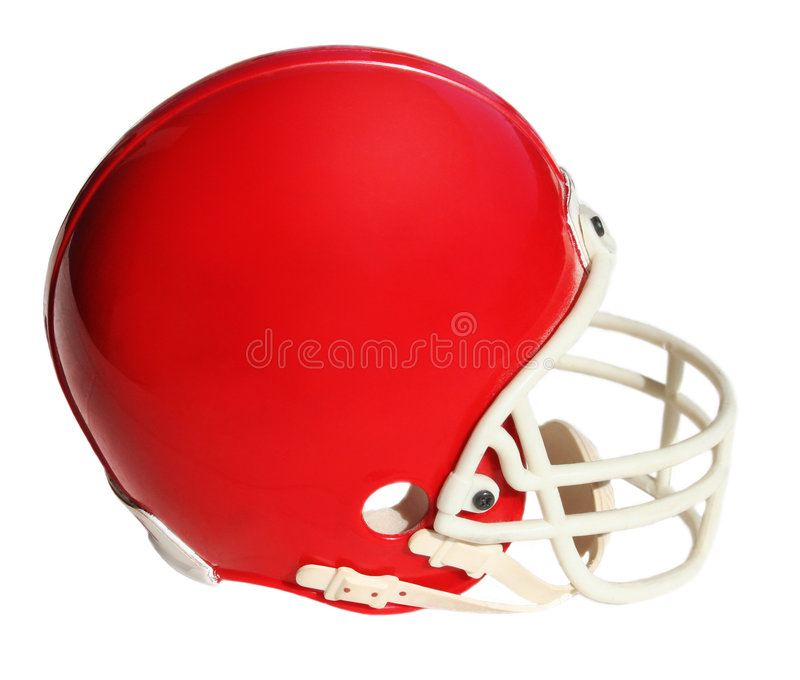 Casque de football américain photographie stock libre de droits