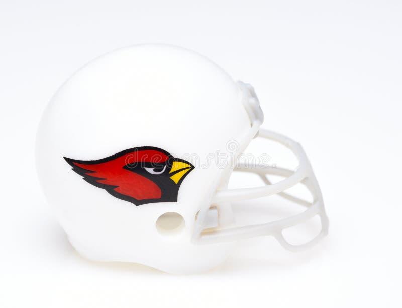 Casque de football des Arizona Cardinals photographie stock