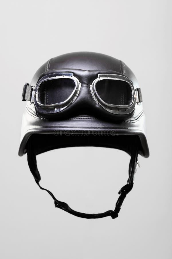 Casque de moto avec des lunettes