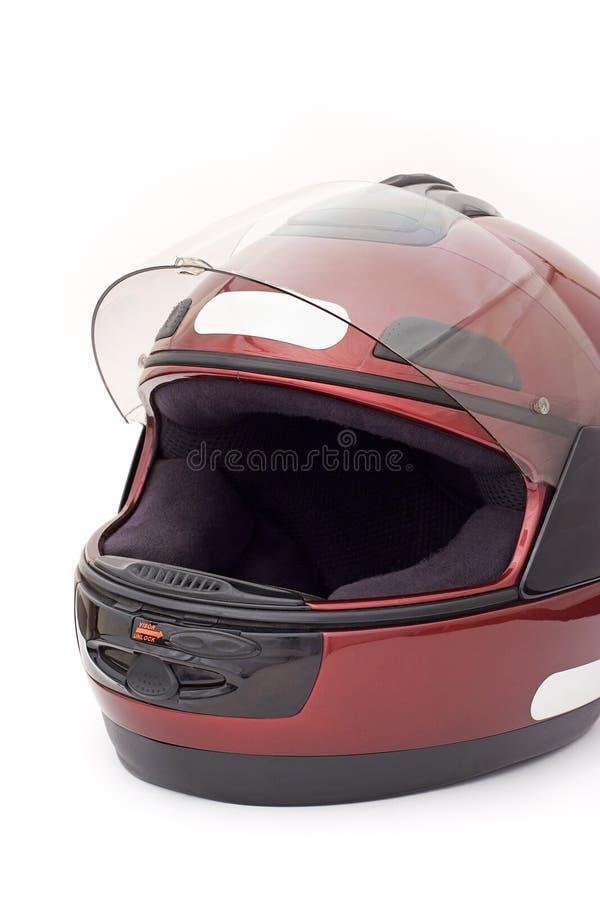 Casque de motocyclette photographie stock libre de droits