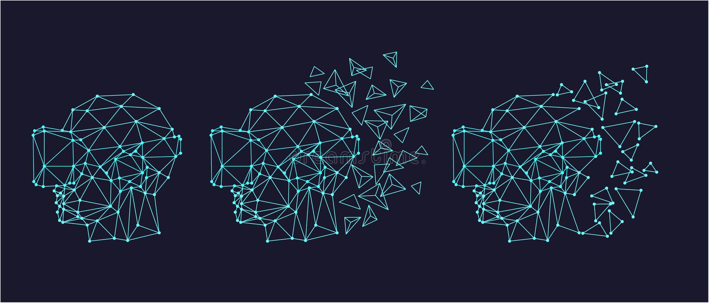 Casque de réalité virtuelle illustration de vecteur