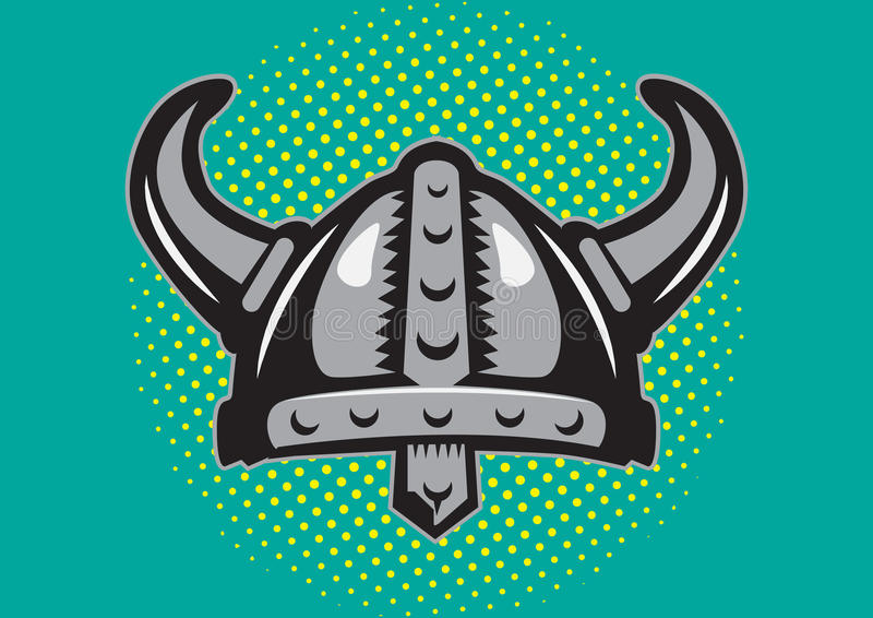 Casque de Viking photos stock